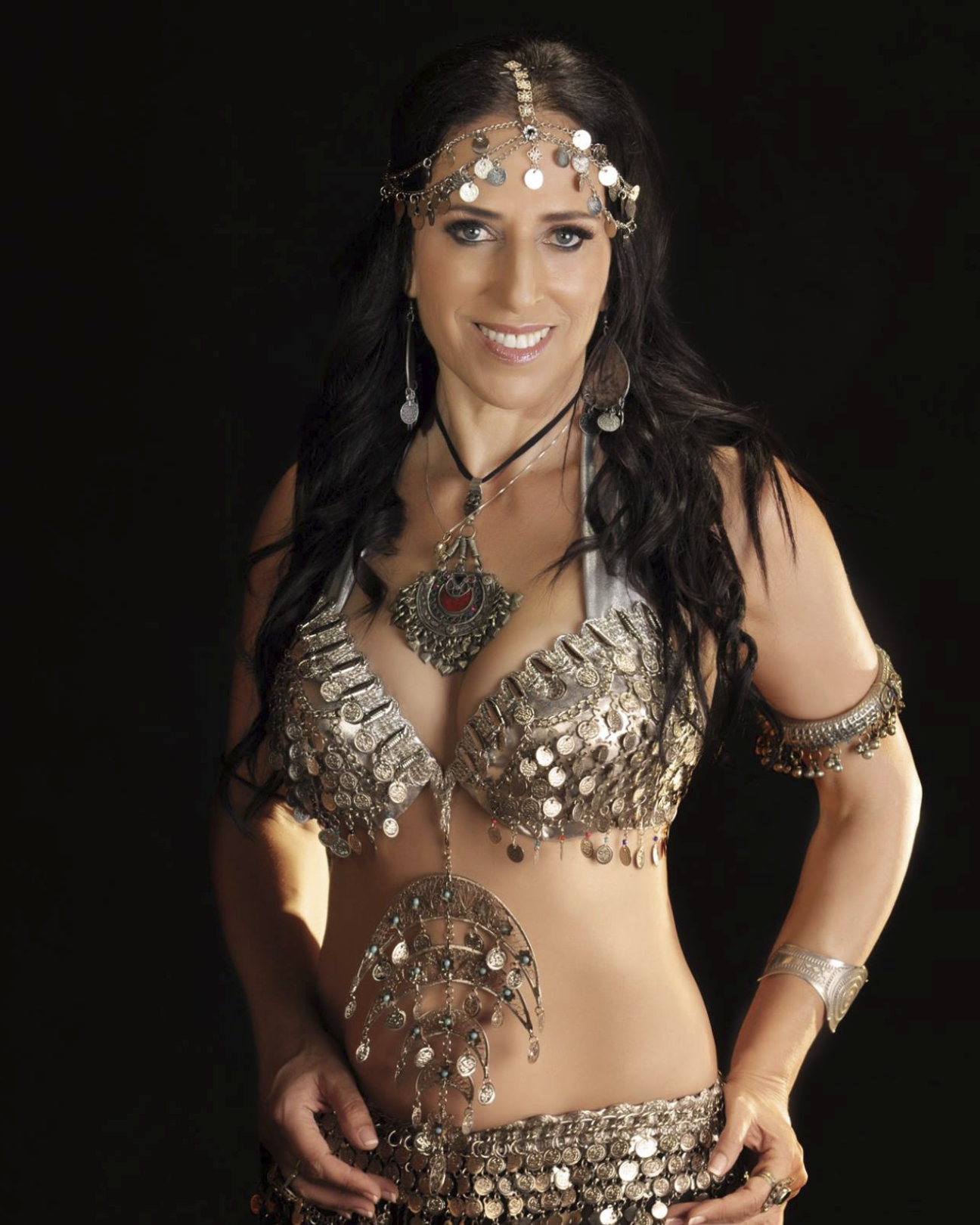 coin-costume Sheherazade Belly Dancing Photos
