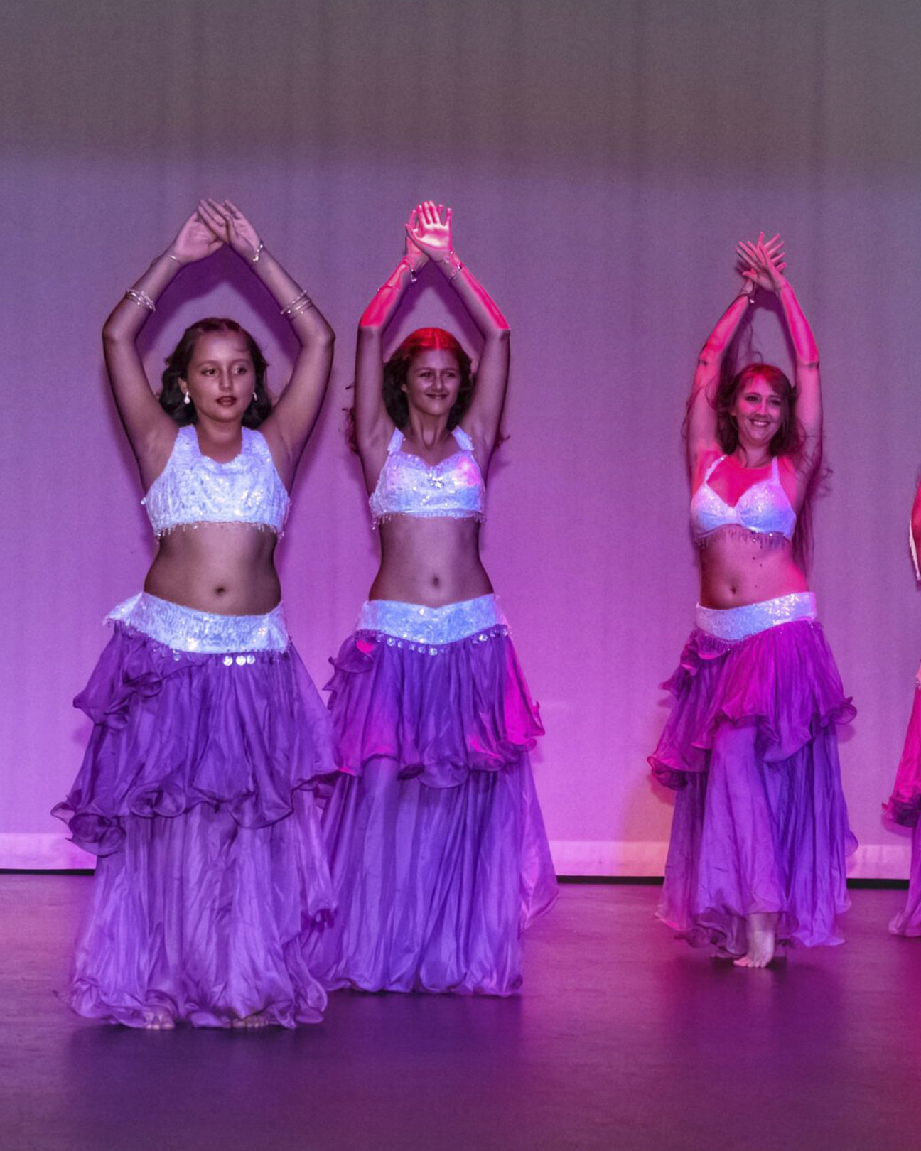 3 Belly Dancing Performers Photos